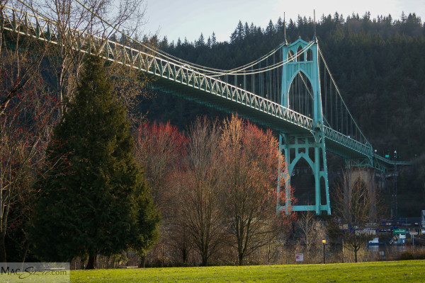 MacSuzie | City of Bridges, Part 1 {Lower Cathedral Park/St. Johns Bridge, Portland, OR}