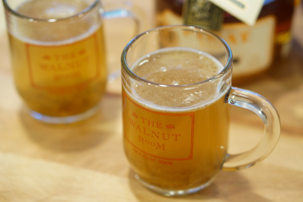 MacSuzie | Ha-Cha-Cha Hot Buttered Rum - This amazing hot rum drink will soon be a favorite of yours for the cold winter months. Serve some for holiday guests or party goers and everyone will be merry and bright!