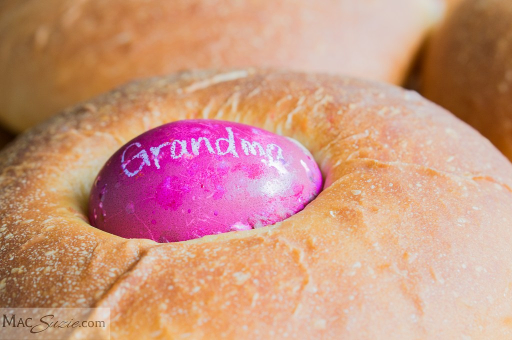 MacSuzie | Italian Easter Bread: Make this delicious Italian Easter Bread for a simple Easter morning breakfast or a great addition to your main holiday meal. For a real treat, pair it with a little of my Whipped Honey Butter!